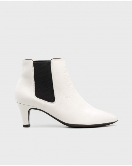 Wonders-Outlet-High ankle boot with elastic