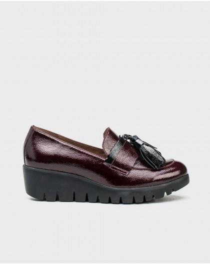 Wonders-Women-Patent leather tassel loafer