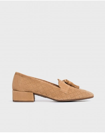 Wonders-Women-Leather moccasin with tassel