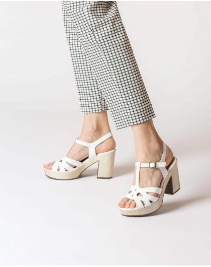 Wonders-Women-Platform sandal with straps