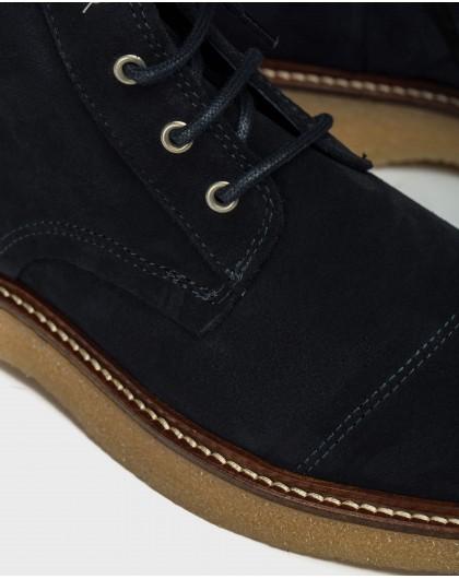 Wonders-Men-Men´s leather ankle boot