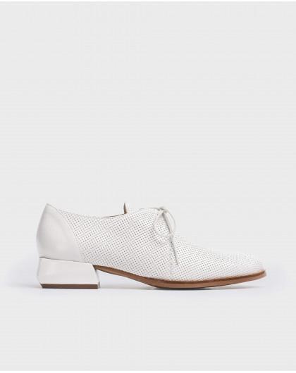 Wonders-Women-Shoe with geometric heel