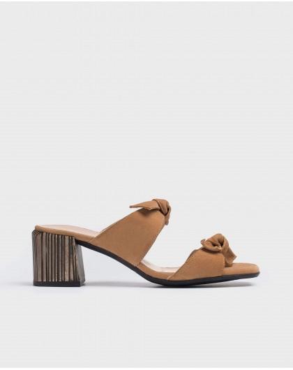 Wonders-Women-High heeled bow sandal