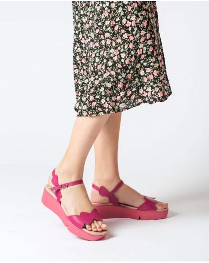 Wonders-Sandals-Wedge sandal with wave