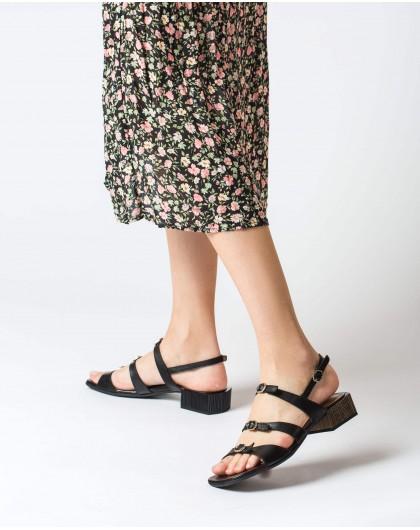 Wonders-Women-High heeled sandal with buckles