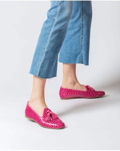 Wonders-Women-Embossed leather slipper