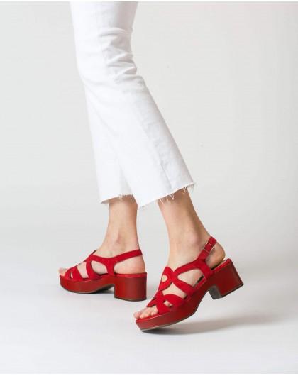 Wonders-Women-Cicular-cut sandal