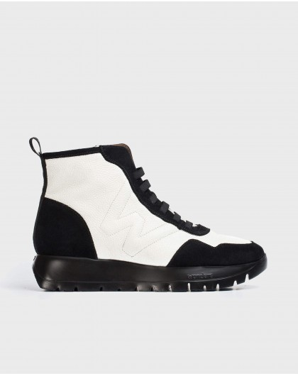 Wonders-Ankle Boots-England Two-tone Ankle Boot