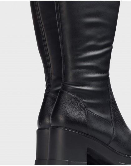 Wonders-Boots-Black EGO Musketeer Boot