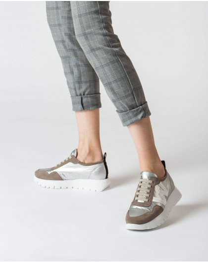 Wonders-Ready to wear-Silver Luna Sneaker