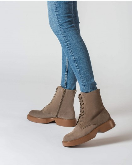 Wonders-Ankle Boots-Brown Icon Ankle boot