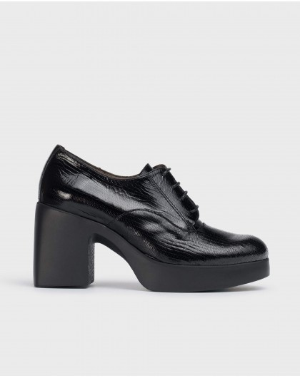 Wonders-Ankle Boots-Black Loira shoes.
