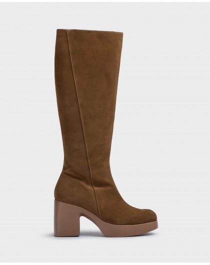 Wonders-Boots-Brown boot Mayfair