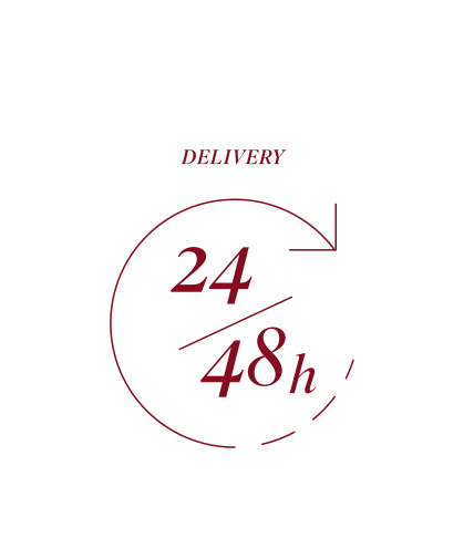 Delivery in 24/48 hours